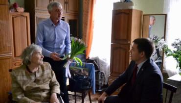 85 летний юбилей отметила старейший член Партии