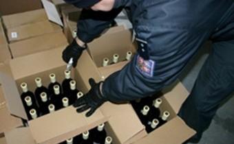 В Геленджике полиция закрыла цех алкогольной продукции