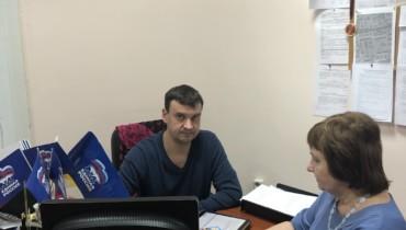 Алексей Тыщенко провел очередной прием граждан