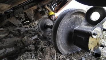 СК назвал предварительные версии крушения поезда на Кубани