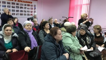 С отчетом о работе фракции Партии «Единая Россия» выступили депутаты перед избирателями