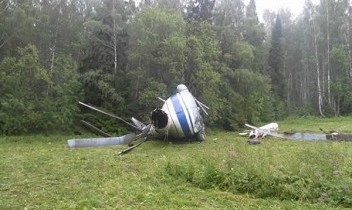 Четыре человека выжили при крушении Ми-8 в Якутии