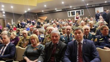 Торжественное собрание, посвященное 30-летней годовщине вывода советских войск из Афганистана