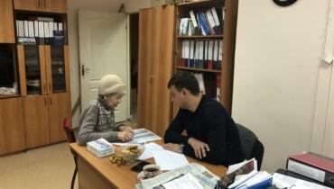Алексей Тыщенко провел очередной прием граждан в обществнггой приемной
