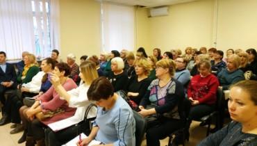Совместная встреча депутатов прошла в Карасунском внутригородском округе.