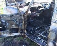 На Кубани в сгоревшем автомобиле обнаружили гранату