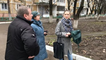 Состоялась встреча жителей избирательного округа №12 по вопросу спилки аварийных деревьев