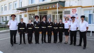 Первой казачьей школе на Кубани — 25 лет!