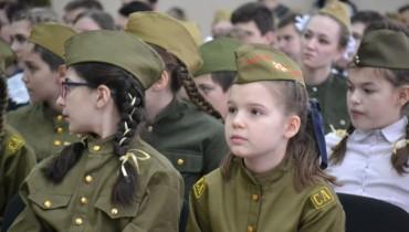 В Карасунском округе прошел конкурс военно-патриотической песни