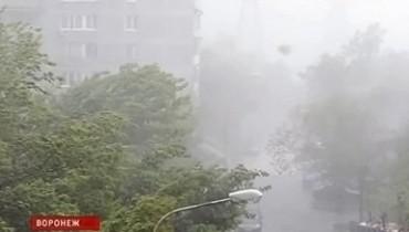 По Центральной России прокатилась буря