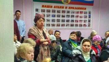 В общественной приемной депутата Алексея Тыщенко состоялся отчет участковых уполномоченных полиции в Комсомольском микрорайоне