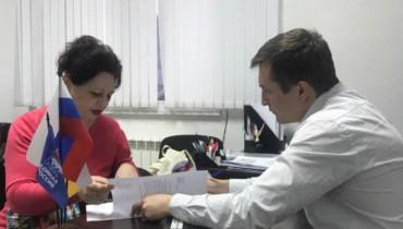Андрей Раззоренов провел прием граждан