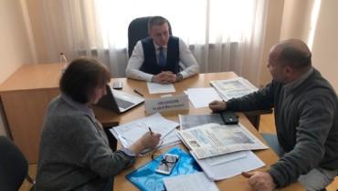 Приём граждан в общественной приемной  председателя партии «Единая Россия» Д.М.Медведева