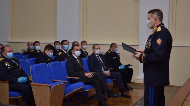 Губернатор Кубани и спикер ЗСК поздравили сотрудников краевого управления ФСБ с профессиональным праздником