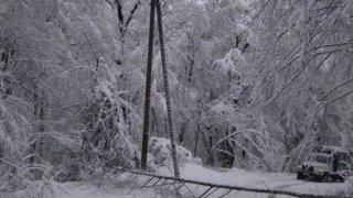 Энергетики мобилизовали силы и средства для борьбы с последствиями нового снегопада в горах Сочи
