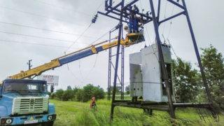 Восстановлено энергоснабжение пострадавших от непогоды поселков на юго-западе Кубани