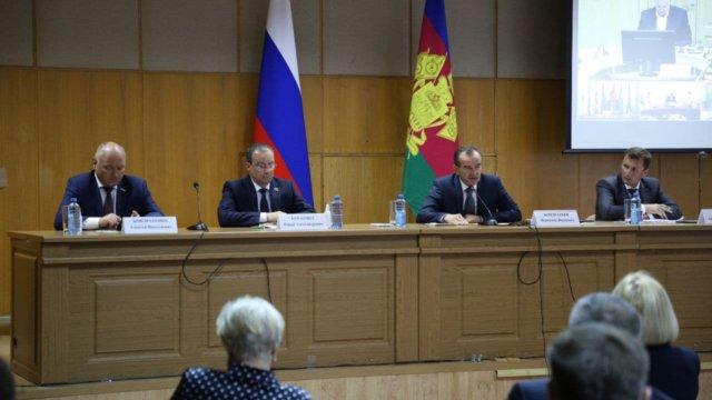 Вениамин Кондратьев и Юрий Бурлачко проверили готовность Кубани к жатве-2021