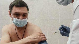 Мэр Краснодара Евгений Первышов рассказал о своем самочувствии после вакцинации от COVID-19