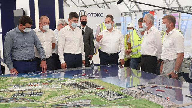 Депутаты ЗСК обсудили безопасность проекта газоперерабатывающего комплекса в Тамани