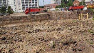 В Краснодаре строят высотку вопреки генплану
