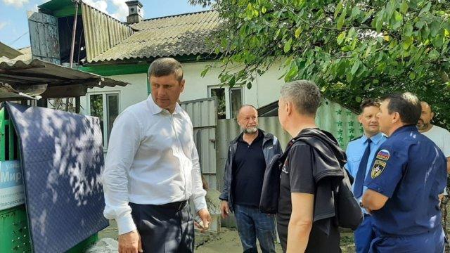 Андрей Алексеенко: все силы спасательных служб стянуты в зону ЧС в Крымском районе
