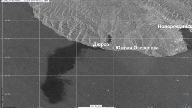 Генпрокуратура организовала проверку из-за разлива нефти в порту Новороссийска