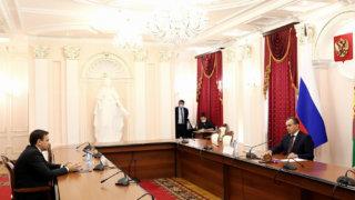 Вениамин Кондратьев: благодарен жителям за то, что пришли на участки и выразили свою гражданскую позицию