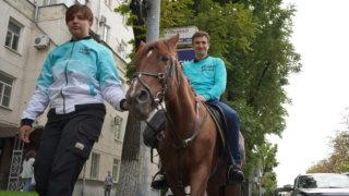 Актер Алексей Гаврилов вместе с Новыми людьми попытался проехать по краснодарским пробкам
