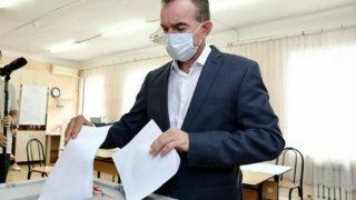 Губернатор Кубани Вениамин Кондратьев принял участие в выборах-2021