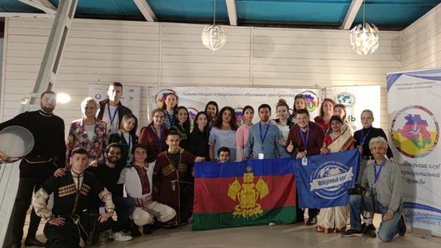 Традиционный фестиваль интернациональных клубов собрал делегатов в селе Широкая Балка под Новороссийском