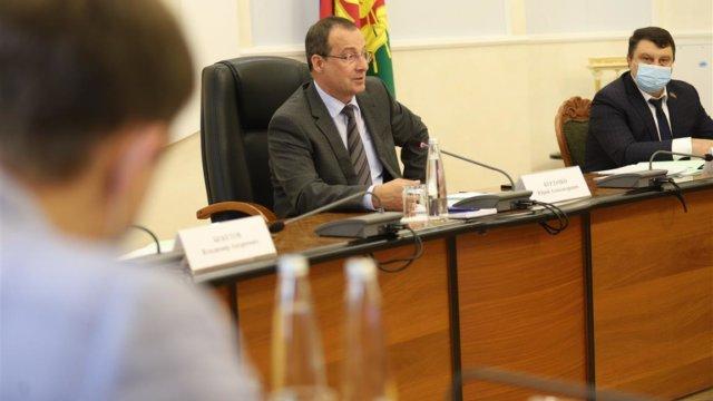 Юрий Бурлачко принял участие в выездном заседание Палаты молодых законодателей при Совете Федерации